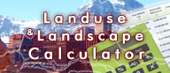 Landuse & Landscape Stats Calculator